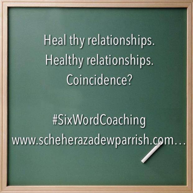 scheherazade washington parrish, six word coaching